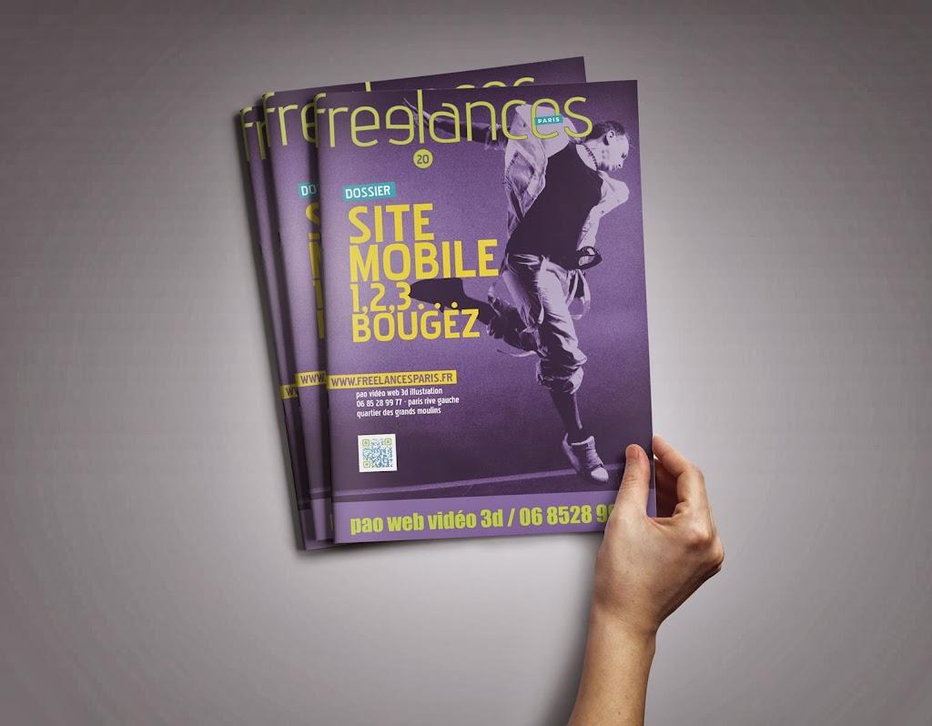 magazine Freelances WEB Site mobile 1, 2, 3 bougez