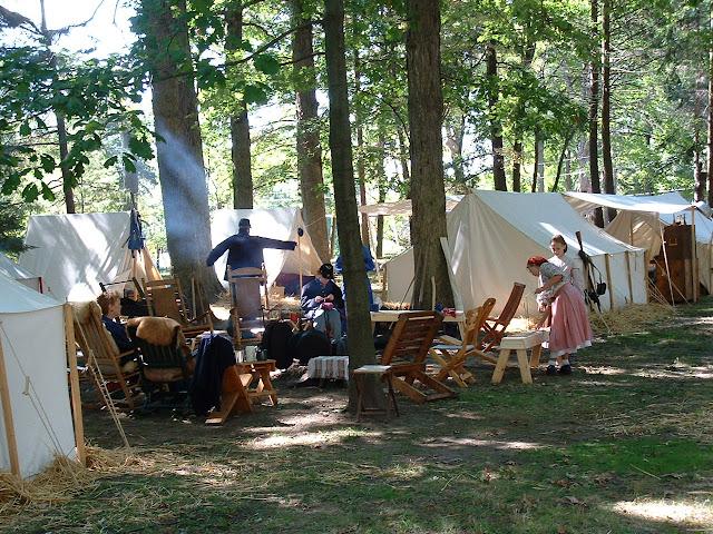 Rutherford B . Hayes Civil War Encampment - 2002_1005_130236AA.JPG