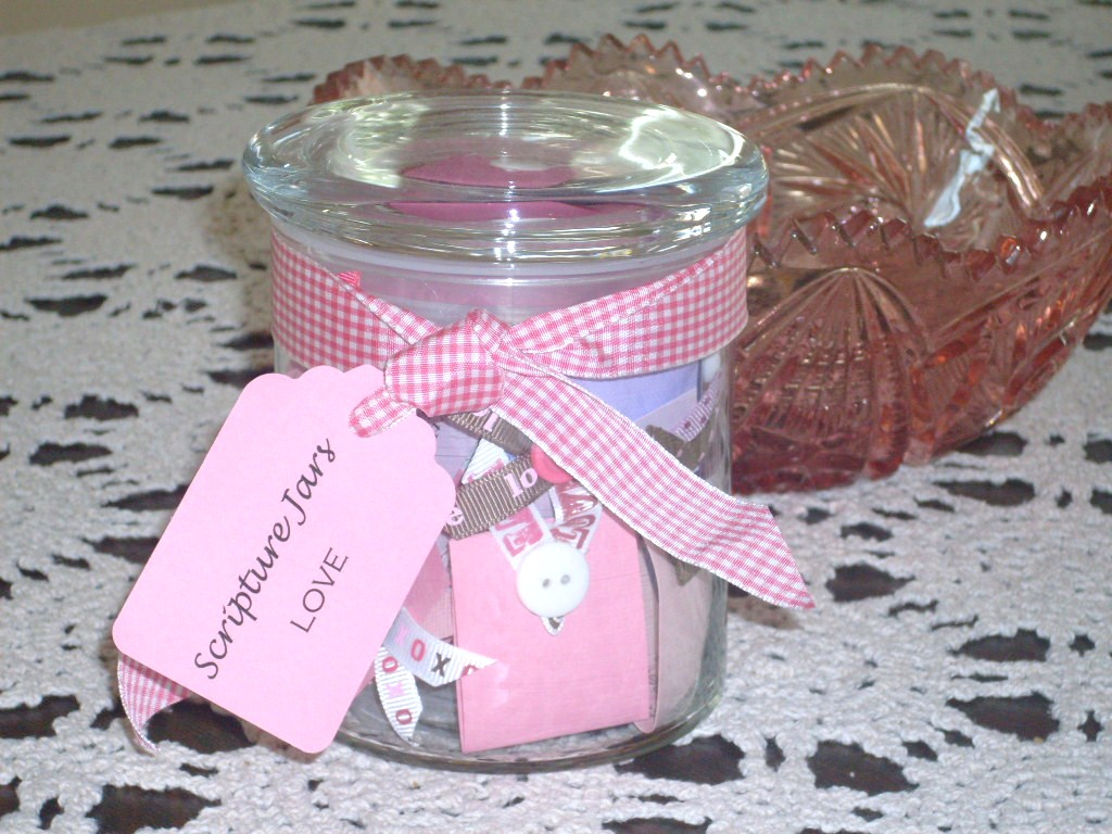 We Can Do It Girls: Scripture Jars: A Tutorial