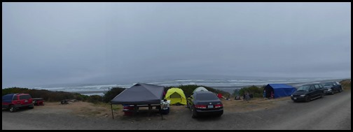 South Beach Campground, Gloomy Day