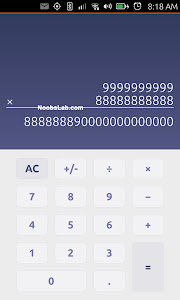 Ubuntu Touch calculator