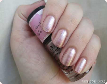 Essence Cosmetics Rose Gold nail polish Bloggers' Beauty Secrets in Hello Beautiful! by Beauty Palmira