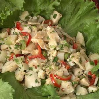 Baccala Salad.