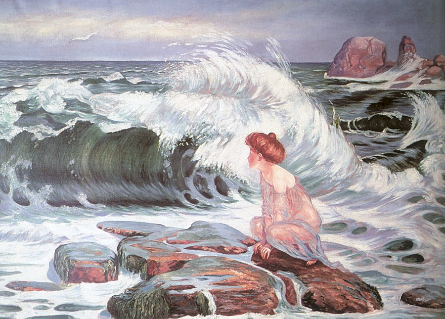 František Kupka - The Wave