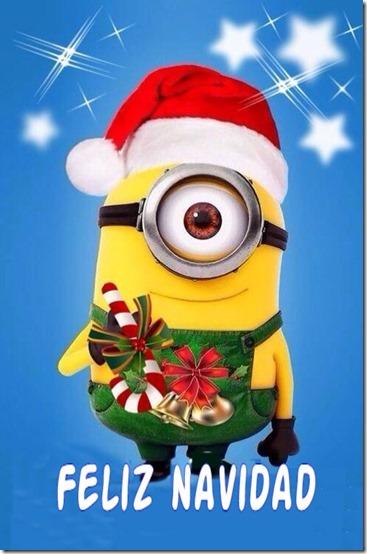 navidad  minions