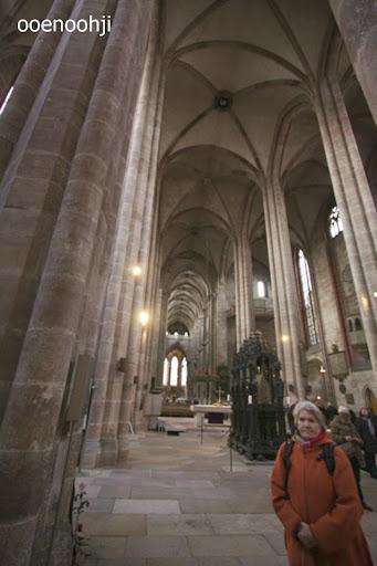 聖ローレンツ教会の天井