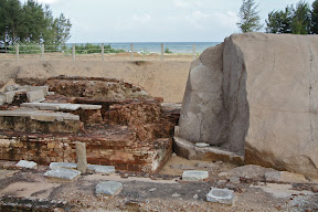 Archaeological site uncovered by 2004 tsunami