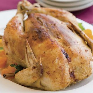 Orange Ginger Roasted Chicken.