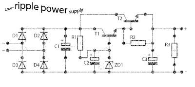 Low ripple power suplly regulator
