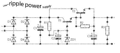 Low ripple power suplly regulator