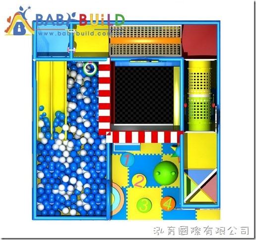 BabyBuild 3D泡管室內遊具