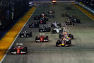 2015 Singapore GP going to 1st corner