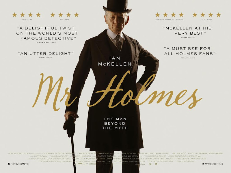 Mr Holmes - movie poster