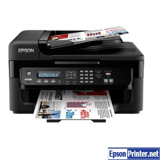 How to reset Epson WorkForce WF-2528 with software