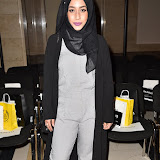 OIC - ENTSIMAGES.COM - Mariah Idrissi at the  LFW a/w 2016: Barrus - catwalk show London 19th February 2016 Photo Mobis Photos/OIC 0203 174 1069