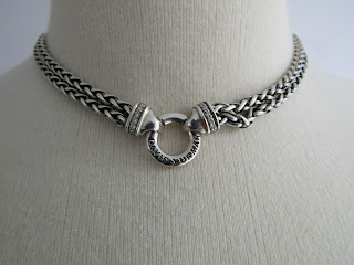 David Yurman Double Wheat Necklace