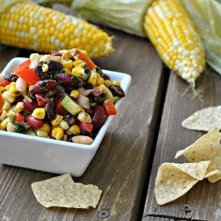 Mexican Three Bean Salad.