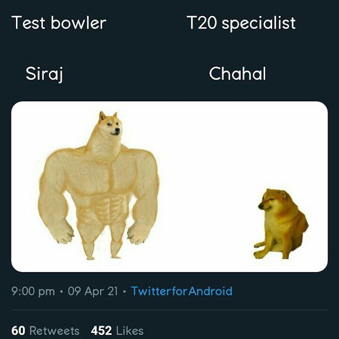 Siraj Memes is now Going Viral | Siraj Trending on Twitter