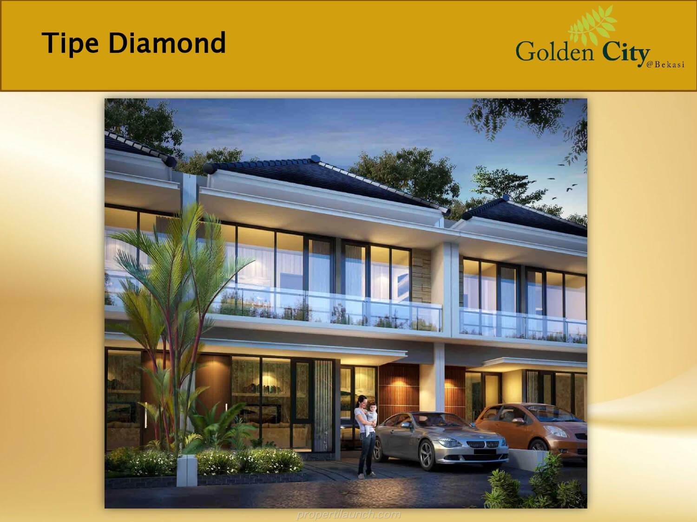 Rumah Diamond Cluster Diamond Golden City Bekasi