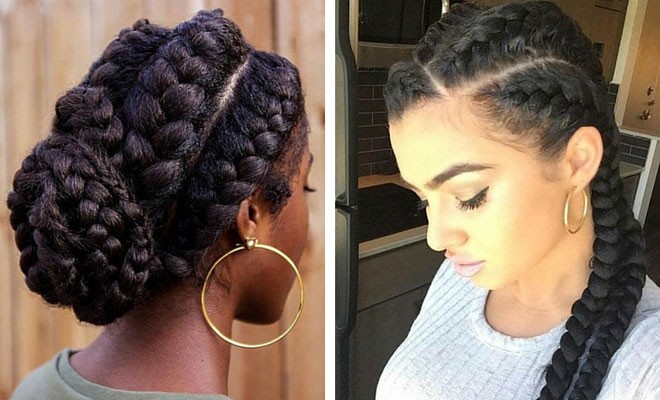 ATTRACTIVE LADY BRAIDED HAIRSTYLES IN 2018 11