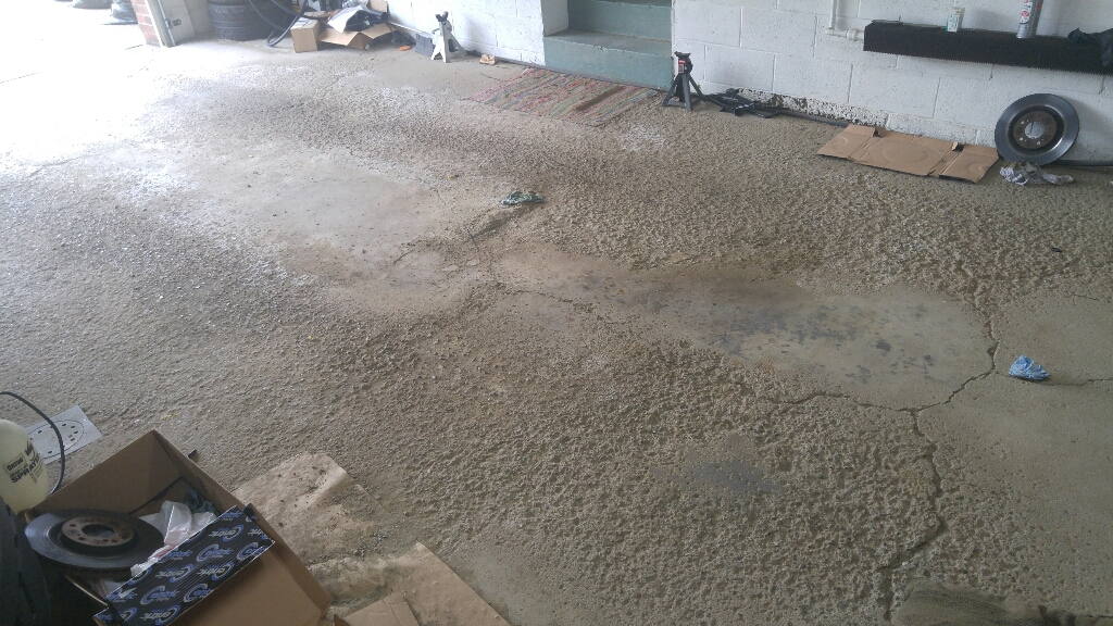 Pitted Concrete Floor Repair Options
