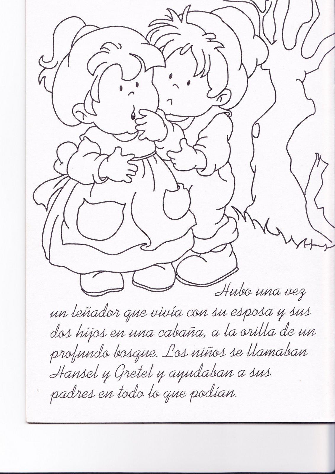 Bonito Hansel Y Gretel Para Colorear Cresta - Enmarcado Para ...