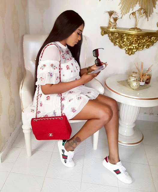 Rukky Sanda Show Off Gucci Wears In New Adorable photos