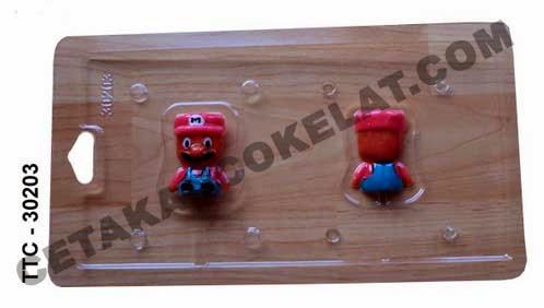 Cetakan Coklat TTC30203 Super Mario Bros