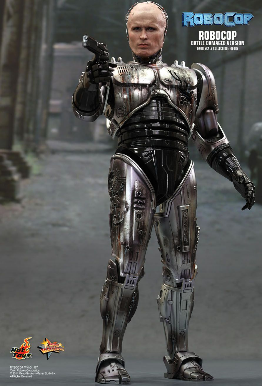 ROBOCOP (BATTLE DAMAGED VERSION)