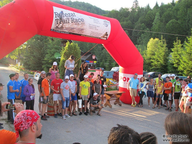 Retezat Trail Race - podium echipe