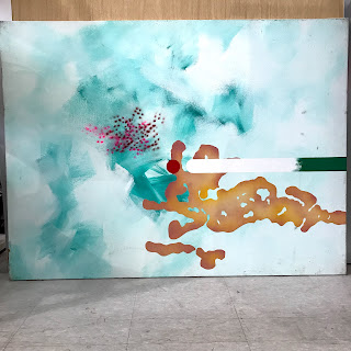 Large Scale Contemporary Abstract #2