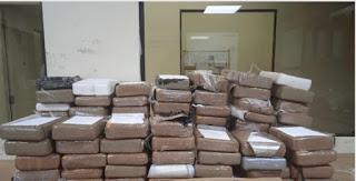 DNCD informa  que no es droga sustancia ocupada  Ambulancia