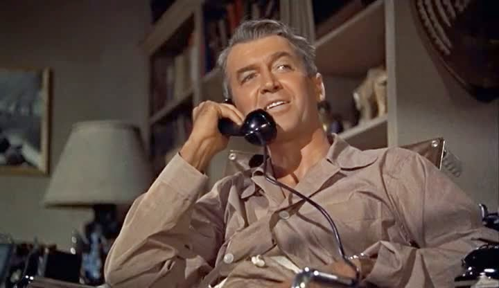 Screen Shot Of Hollywood Movie Rear Window (1954) In Hindi English Full Movie Free Download And Watch Online at Alldownloads4u.Com