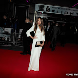 WWW.ENTSIMAGES.COM -  Jade Ewen   arriving at Flight UK Film Premier Empire Leicester Square London January 17th 2013                                                     Photo Mobis Photos/OIC 0203 174 1069