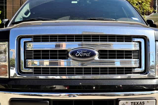 Ford F-150 grill