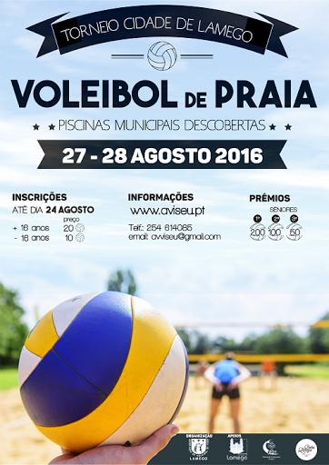 Torneio de Voleibol de Praia - Cidade de Lamego - 2016