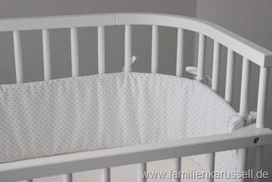 Babybay-Nestchen-punkte-Perlrau