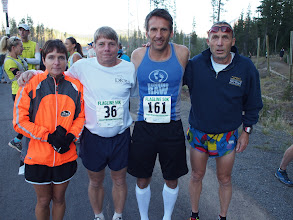 Photo: Denise and Bob Dion, Tim Van Orden and Frank Bozanich