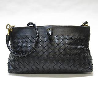 Bottega Veneta Woven Micro Bag