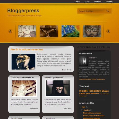 Blogger Press,blogger,Templates for blogger