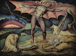 William Blake Satan Smiting Job With Sore Boils C1799