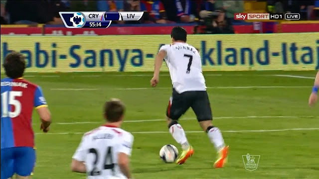 Suarez, Crystal Palace - Liverpool