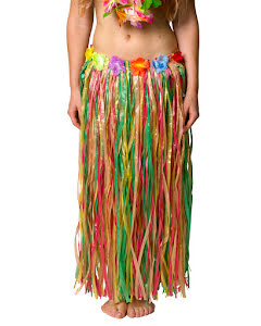 Hawaiikjol, flerfärgad