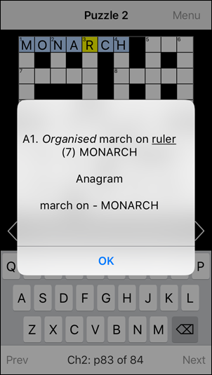 Cryptic Clue Annotation