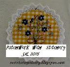 Patchwork and stitchery SAL 2015