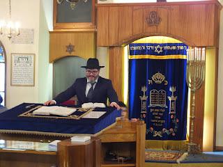 Hanouka - à la synagogue