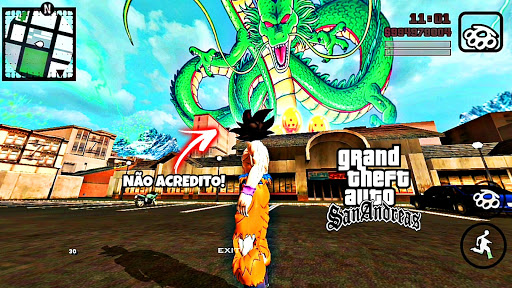 SAIU!! Dragon Ball Super Mod | GTA San Andreas (ModPack) Apk+Data (Android)