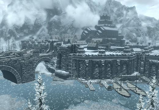 雪中の宝石と謳われたウィンドヘルムの街