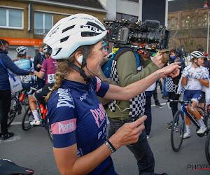 Yara Kastelijn komt er gelukkig zonder breuken vanaf na valpartij in Ronde van Vlaanderen
