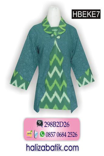 model baju batik kerja wanita, model baju kerja, gambar model baju batik